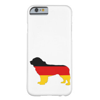 German Flag - Newfoundland Dog Barely There iPhone 6 Case