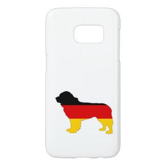 German Flag - Newfoundland Dog Samsung Galaxy S7 Case
