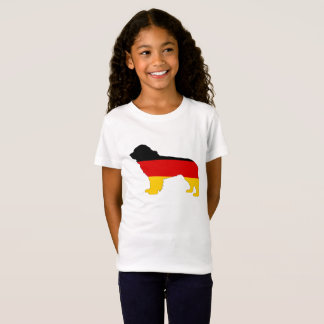 German Flag - Newfoundland Dog T-Shirt