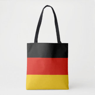 German flag of Germany shopping tote bags