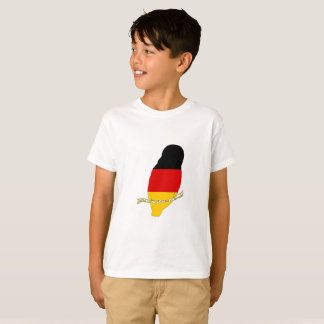 German Flag - Owl T-Shirt