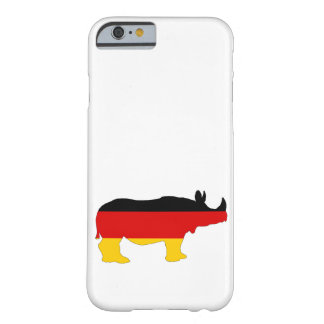German Flag - Rhino Barely There iPhone 6 Case