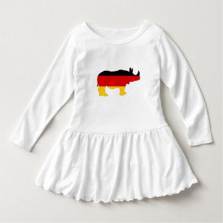 German Flag - Rhino Dress