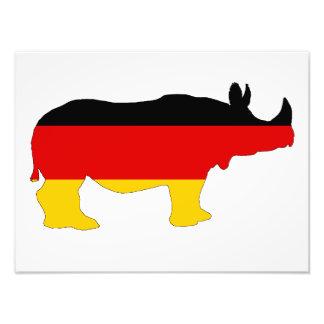 German Flag - Rhino Photo Art