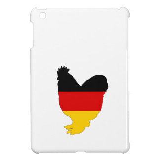 German Flag - Rooster Case For The iPad Mini