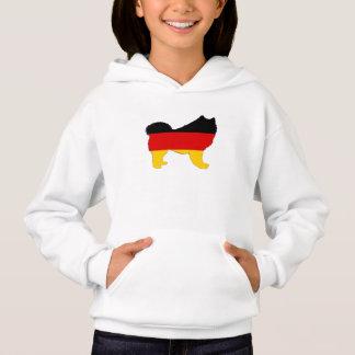 German Flag - Samoyed