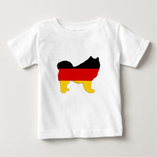 German Flag - Samoyed Baby T-Shirt