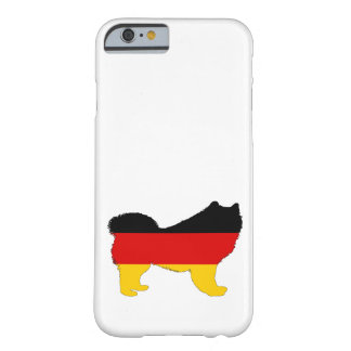 German Flag - Samoyed Barely There iPhone 6 Case