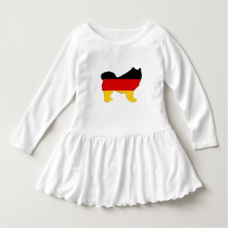 German Flag - Samoyed Dress