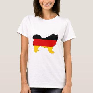 German Flag - Samoyed T-Shirt