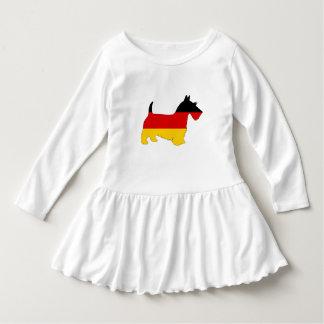 German Flag - Scottish terrier Dress