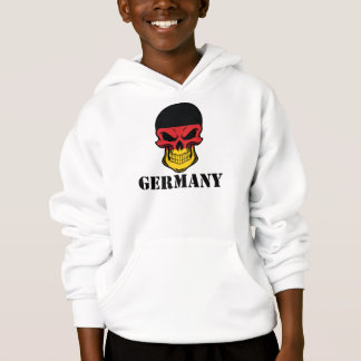 German Flag Skull Germany