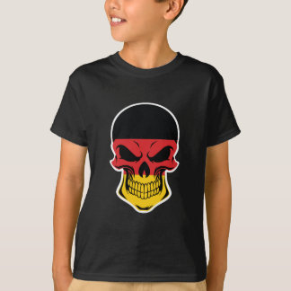 German Flag Skull T-Shirt