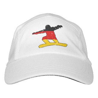 German flag SNOWBOARDER (blk) Headsweats Hat