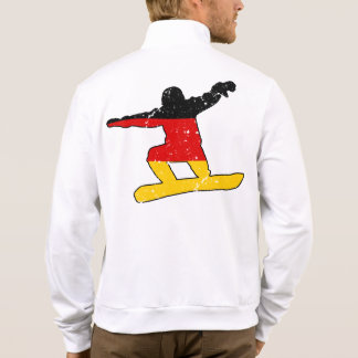 German flag SNOWBOARDER (blk) Jacket