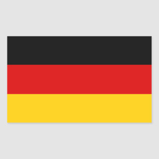 German flag sticker