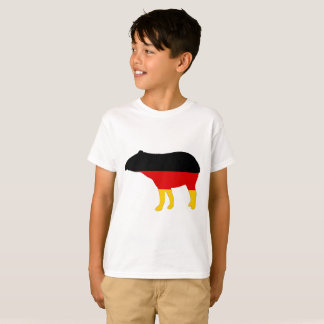 German Flag - Tapir T-Shirt