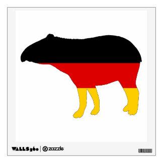 German Flag - Tapir Wall Sticker