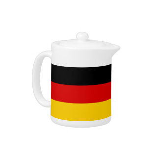 German Flag Teapot