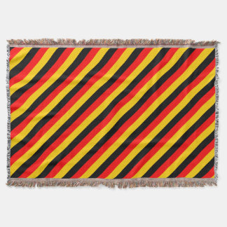 German Flag Throw Blanket