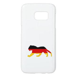 German Flag - Tiger Samsung Galaxy S7 Case
