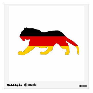 German Flag - Tiger Wall Decal