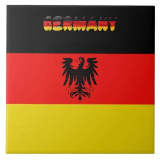 German flag tile