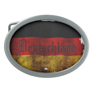 German flag - Vintag Belt Buckle