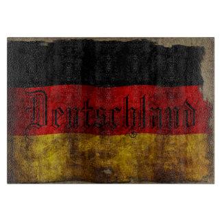 German flag - Vintag Cutting Board