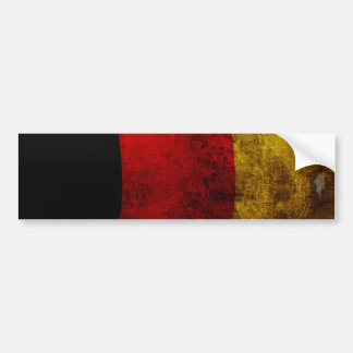 German Flag - Vintage Bumper Sticker