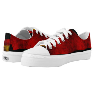 German Flag - Vintage... Low-Top Sneakers