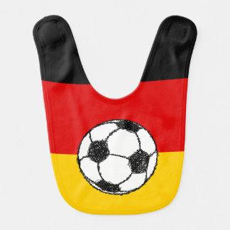 German Flag with Football Bib