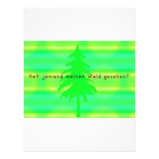 German -Forest Letterhead