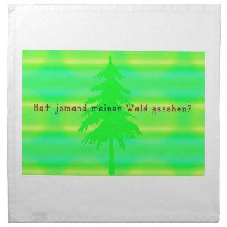 German -Forest Napkin