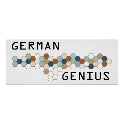 German Genius Print