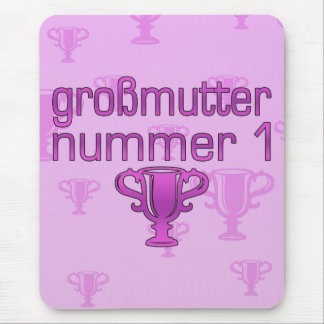 German Gifts for Grandmothers: Großmutter Nummer 1 Mouse Pad