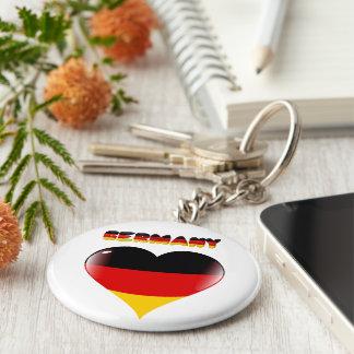 German heart keychain