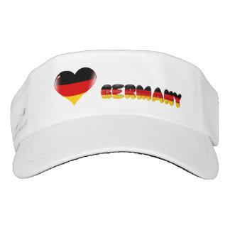 German heart visor