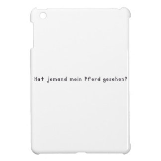 German -Horse Case For The iPad Mini