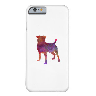 German Hunting Terrier in watercolor Barely There iPhone 6 Case