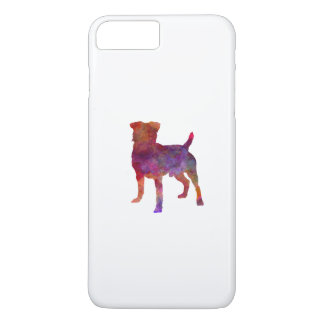 German Hunting Terrier in watercolor iPhone 7 Plus Case