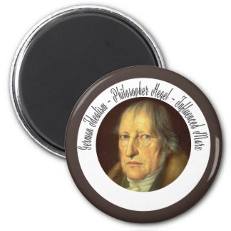 German Idealist Philosopher Georg Hegel Magnet