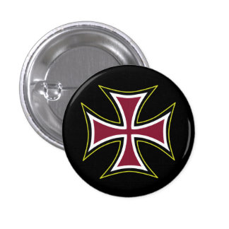 German Iron Cross 1 Inch Round Button