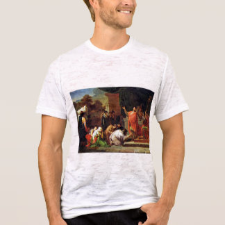 German King Perseus Before Aemilius Paulus By Peyr T-Shirt