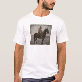 German Lancer on Horseback T-Shirt