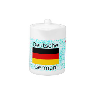 German Language And Flag Design