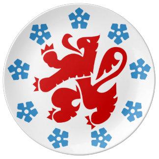 German-language community of Belgium - Eupen etc. Plate