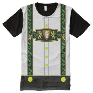 German Lederhosen Costume All-Over-Print T-Shirt