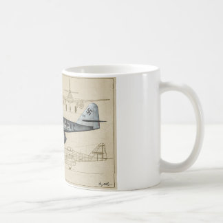 German Luftwaffe Me262 jet fighter, World-War-2 Coffee Mug