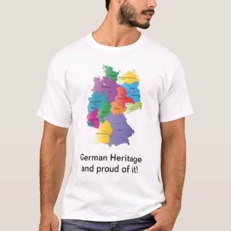 German Map Heritage T-Shirt